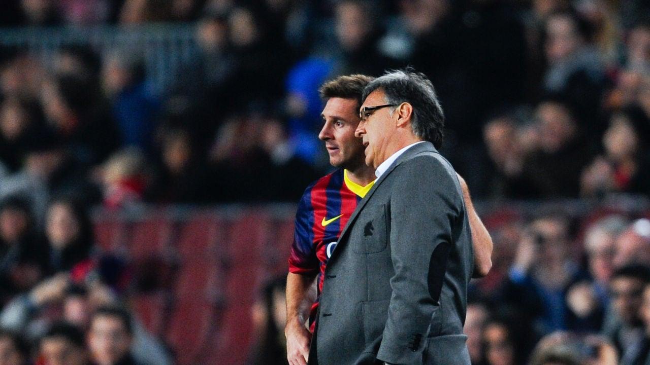 El Tata Martino prendió fuego a Lionel Messi