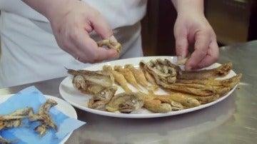 Pescaíto frito en El Comidista TV