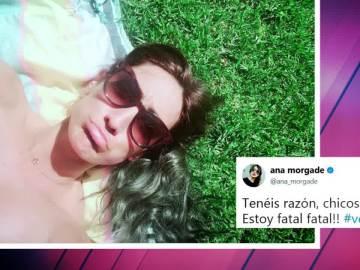 La respuesta de Ana Morgade a las críticas a su pelo verde