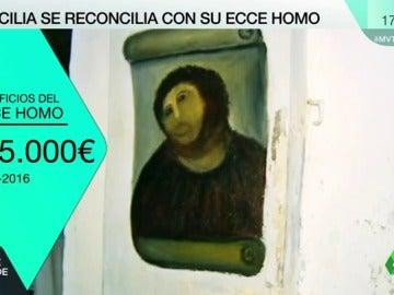 """Cecilia Rodríguez se reconcilia con su 'Ecce Homo': """"Ya no me parece tan feo"""""""