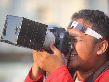 Fotografía al eclipse solar