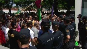 Los taxistas de Málaga decidirán en asamblea si continúan con la huelga