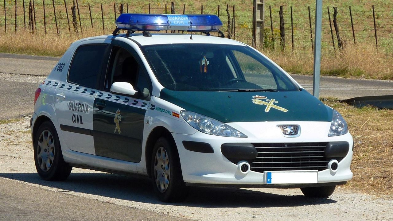 Coche de la Guardia Civil, imagen de archivo
