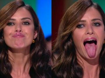 La extraña habilidad de Paula Prendes con su lengua