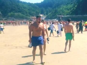 El héroe de la playa de Aguilar: salvó de morir ahogado a un hombre de 72 años