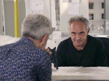 Ferran Adrià y Mikel López Iturriaga en El Comidista TV