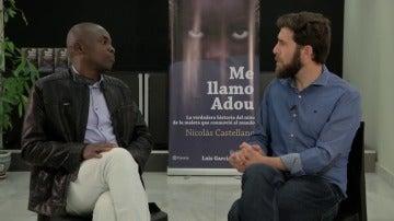 Gonzo y Ali Ouattara en El Intermedio
