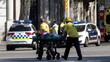 Atentado terrorista en Barcelona