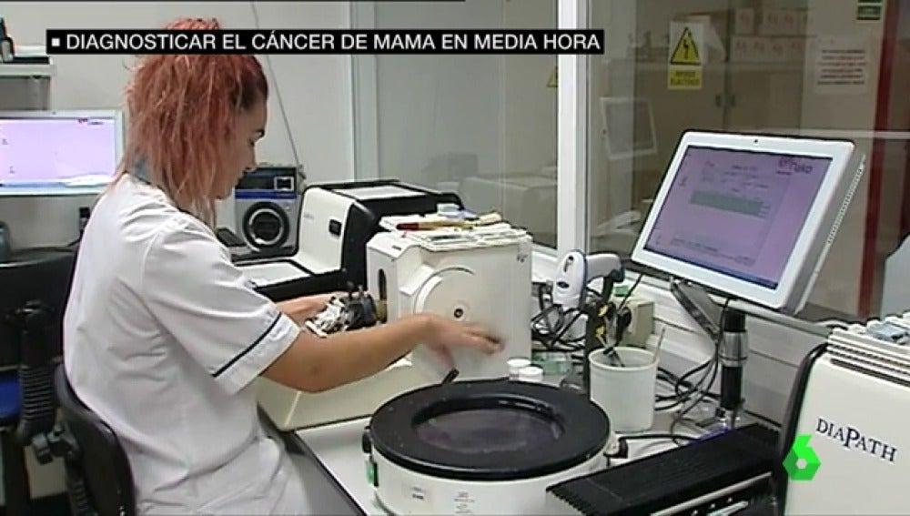 'La biopsia rápida', un nuevo sistema que permite identificar el cáncer de mama en 30 minutos
