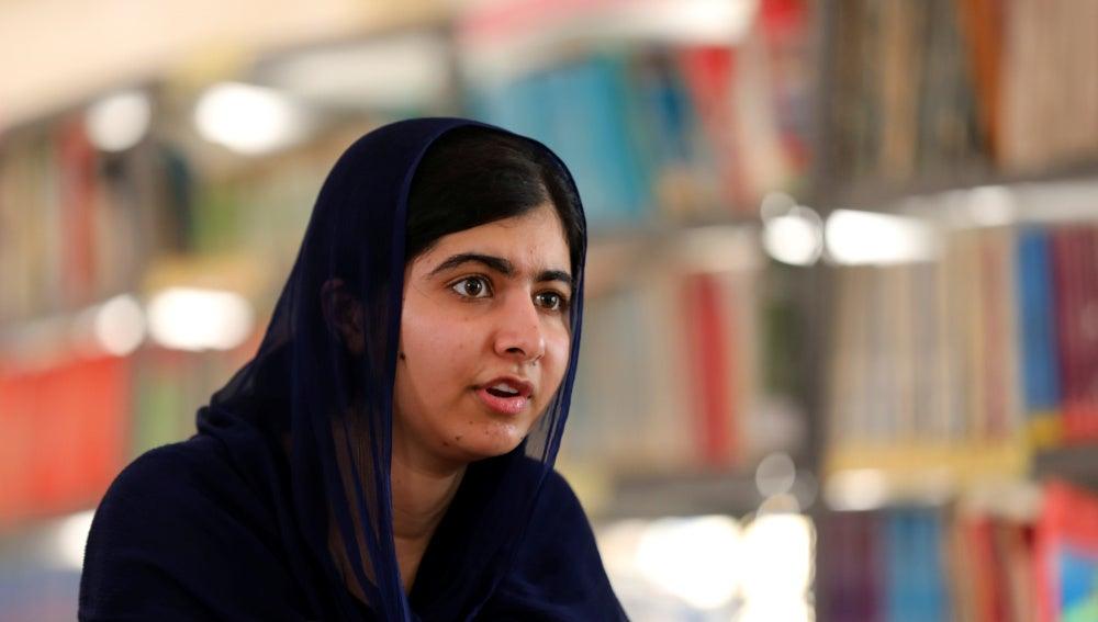 La joven activista Malala Yousafzai