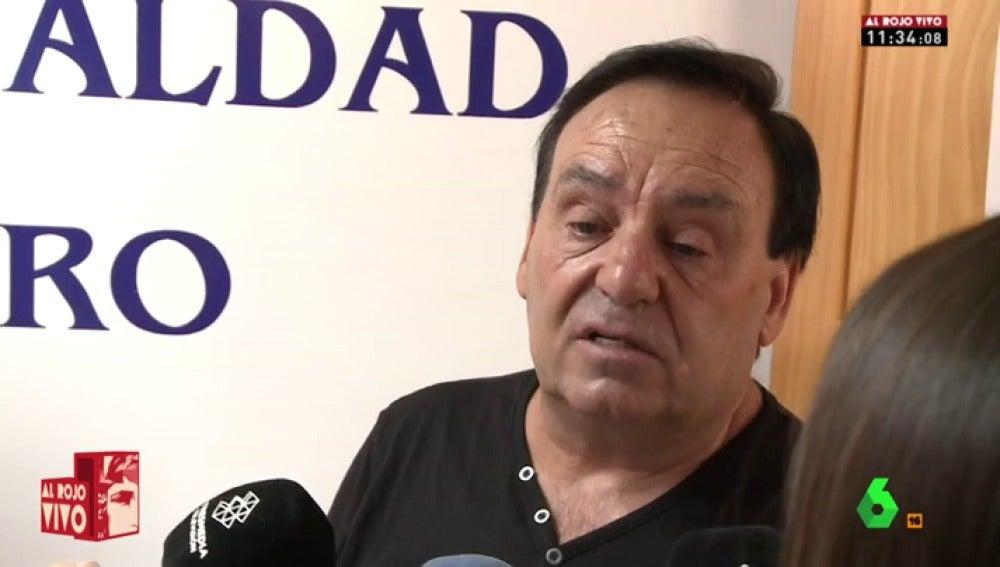 """El padre de Juana Rivas: """"Cuando fui a Italia, vi que tenía un moretón en la cara"""""""