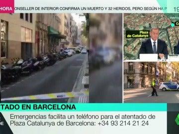 El teléfono de Plaza Catalunya de Barcelona es el +34 93 214 21 24