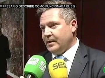Así confiesa un imputado en el 'caso del 3%' que ganó obras por donaciones