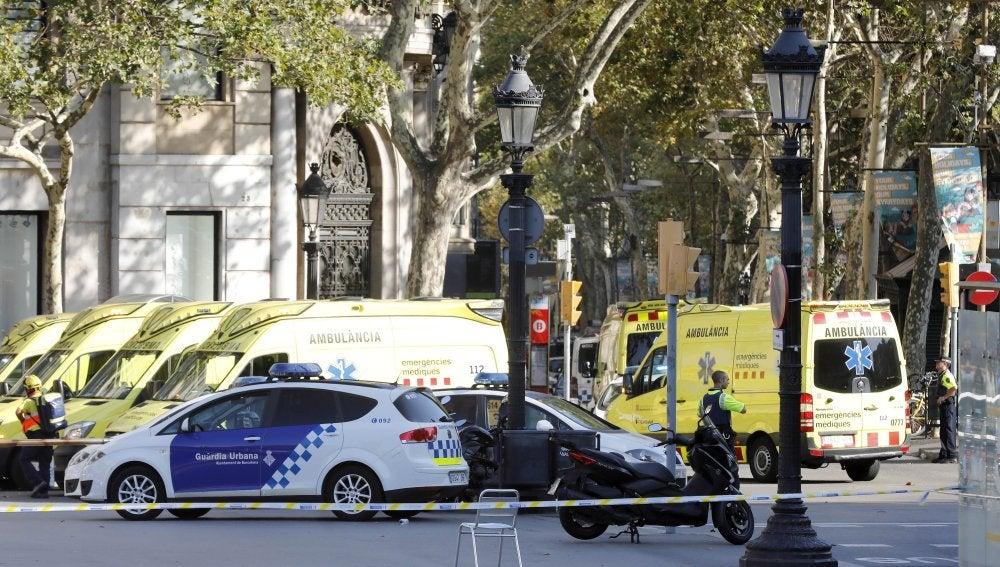 Resultado de imagen de terrorismo barcelona
