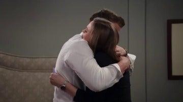 Brennan y Booth descubren una feliz noticia
