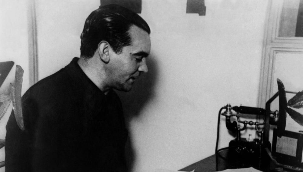 El poeta español Federico García Lorca