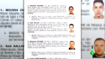 Los sospechosos que la Policía está buscando por los atentados de Barcelona