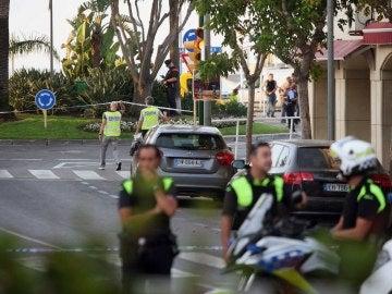 Los Mossos d'Esquadra han abatido esta noche a cuatro presuntos terroristas en Cambrils (Tarragona)
