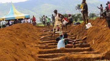 Imagen de la tragedia en Sierra Leona