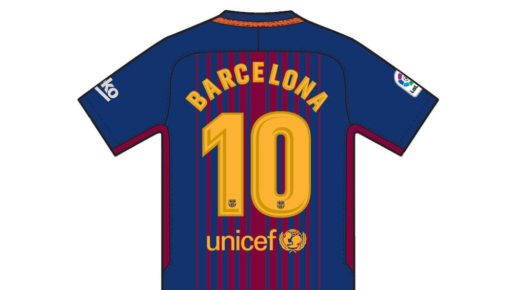 227ff6bb4f El dorso de la camiseta del Barcelona por los atentados