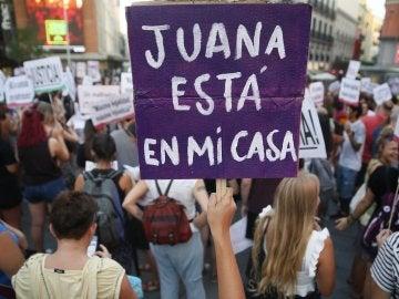 """Concentración en la Plaza del Callao de Madrid bajo el lema """"Todas somos Juana"""""""
