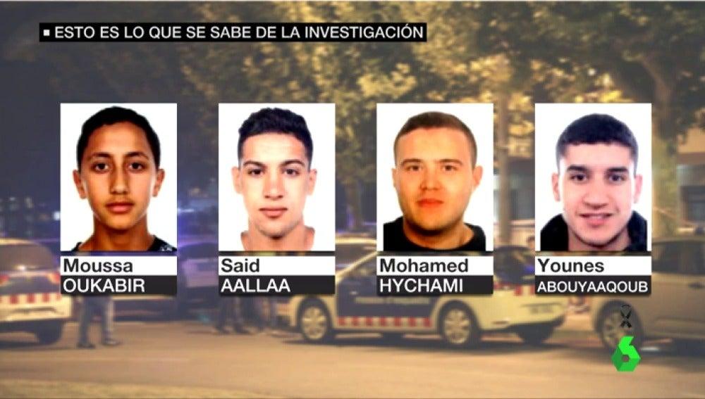 Los cuatro sospechosos buscados por los atentados en Catalunya fueron abatidos en Cambrils