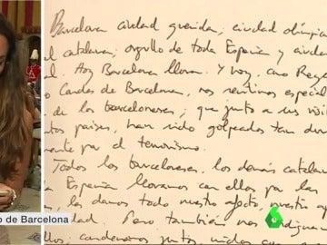 El mensaje de pésame del rey Felipe VI