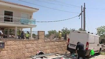 Los terroristas se alojaban en una casa embargada