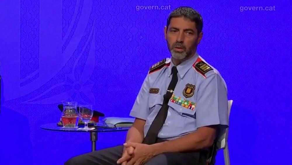 Josep Lluís Trapero, Mayor de los Mossos d'Esquadra