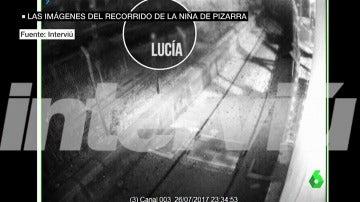 Salen a la luz imágenes inéditas de Lucía Vivar corriendo por las vías del tren