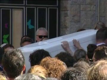 Funeral del niño de Rubí y su tío