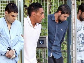 Los cuatro yihadistas detenidos declaran en la Audiencia Nacional
