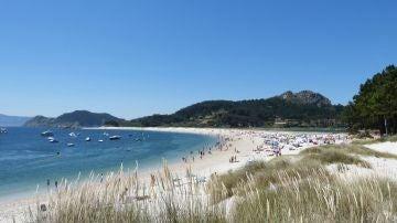 Playa de Rodas, islas Cíes