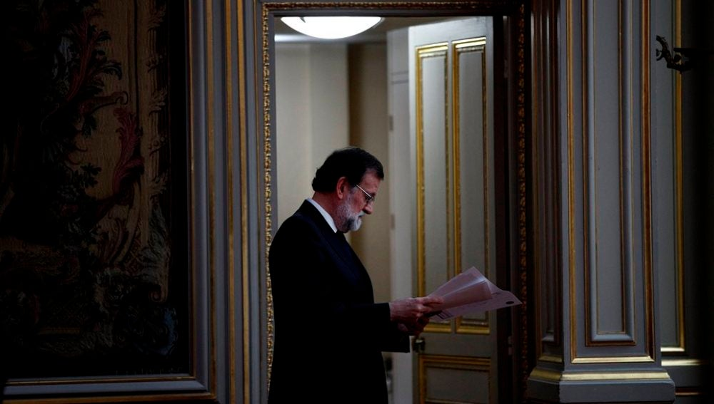 Mariano Rajoy en el Congreso en una imagen de archivo