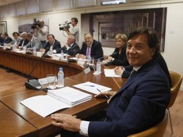 José Ramón Lete, presidente del CSD, en la reunión con los presidentes territoriales