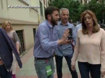 Gonzo y Susana Díaz en El Intermedio