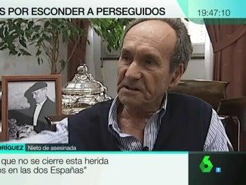 Juan Rodríguez Rodríguez, nieto de Rosaura