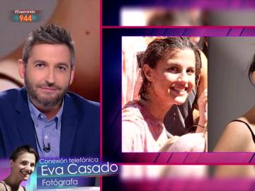 Eva Casado encuentra a la chica de La Tomatina