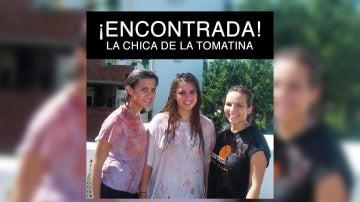 Eva Casado anuncia en Facebook que ha encontrado a su doble de la Tomatina