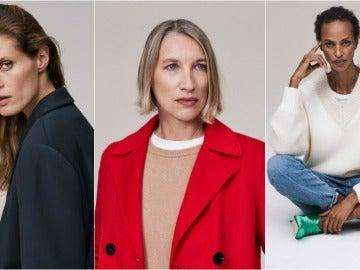 Modelos de más de 40 años en la nueva campaña de Zara