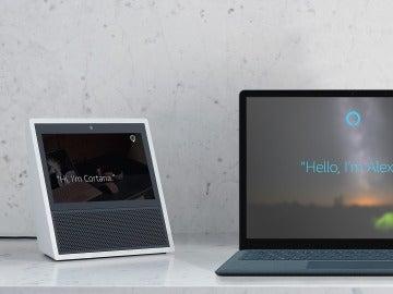 Cortana y Alexa, Alexa y Cortana se invocarán una a la otra