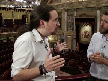 Pablo Iglesias y Gonzo en El Intermedio