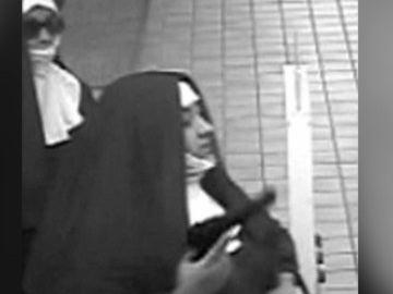 El FBI busca a dos mujeres que intentaron atracar un banco disfrazadas de monja