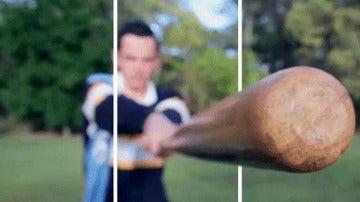 GIF Bate Béisbol en 3D