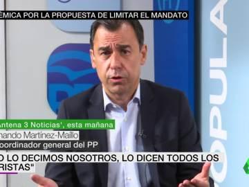 Martínez-Maillo en Antena 3 Noticias