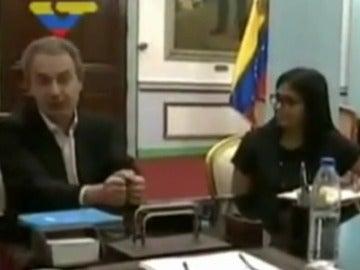 Nicolás Maduro y el expresidente Zapatero se reúnen para impulsar el diálogo en Venezuela
