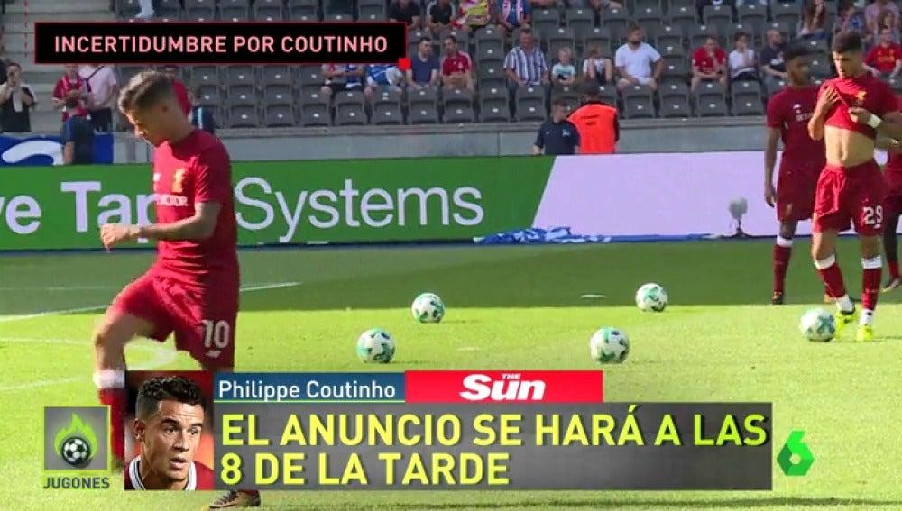 Últimas horas para que el Barcelona cierre el fichaje de Coutinho
