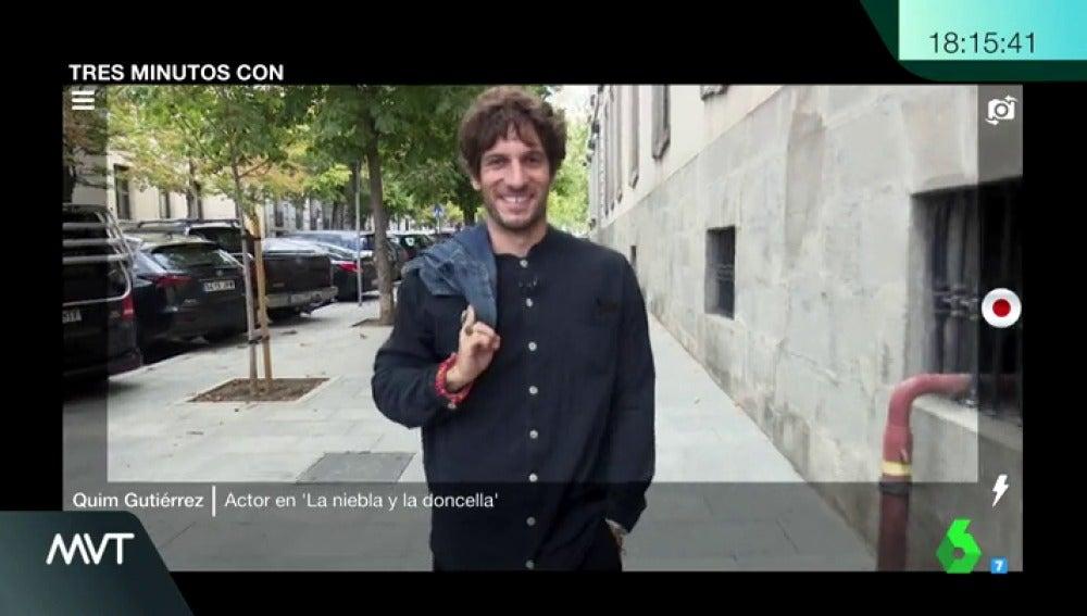 """Tres minutos con Quim Gutiérrez: """"'La niebla y la doncella' es más inquietante de lo que promete el título"""""""