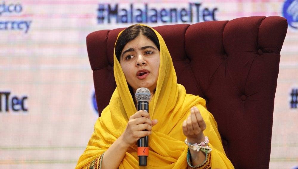 La activista paquistaní Malala Yousafzai