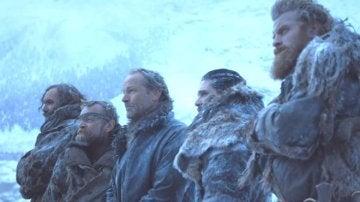'El Perro', Beric, Jorah, Jon y Tormund en Juego de Tronos